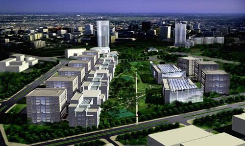 青岛硅谷四川大学硏究院图片