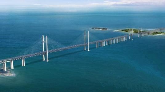 中铁大桥局集团近日称,经过长达半年的准备,福建平潭海峡公路铁路大桥当日开钻首桩,由此拉开我国首座跨海公路铁路大桥主体工程施工序幕。   该大桥是我国第一座公路铁路两用跨海大桥,既是新建福州至平潭铁路、长乐至平潭高速公路的关键性控制工程,又是连接福州和平潭综合实验区的快速通道。   大桥下层为时速200公里的双线一级铁路,上层为时速100公里的6车道高速公路,全长11.