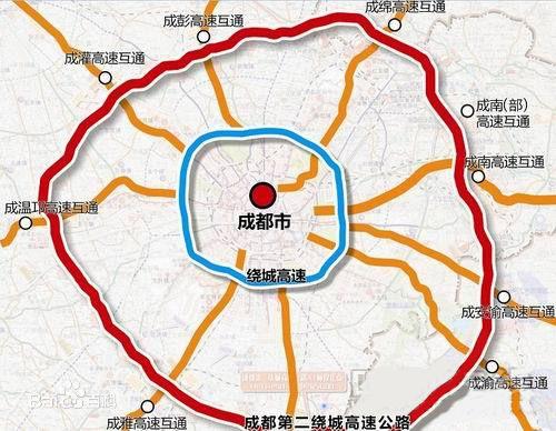 2014年,新邛路,大件路外繞線,成溫邛快速路,五洛路,沙西線等第二輪圖片