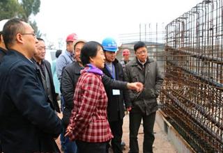 省交通运输厅副厅长张晓燕赴广安调研高速公路建设