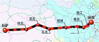川藏铁路成雅段明年5月投运