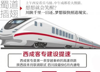 西成铁路年底实现通车试运营