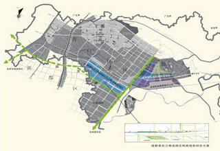 成都布局现代万博manbetx客户端业发展 将建设五大园区六大中心
