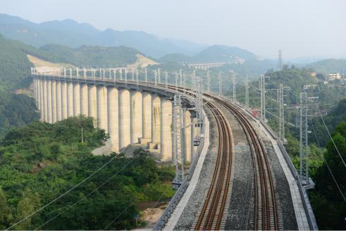 渝贵铁路预计年底开通 成都到贵阳仅需3个多小时