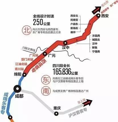 西成高铁进入开通倒计时