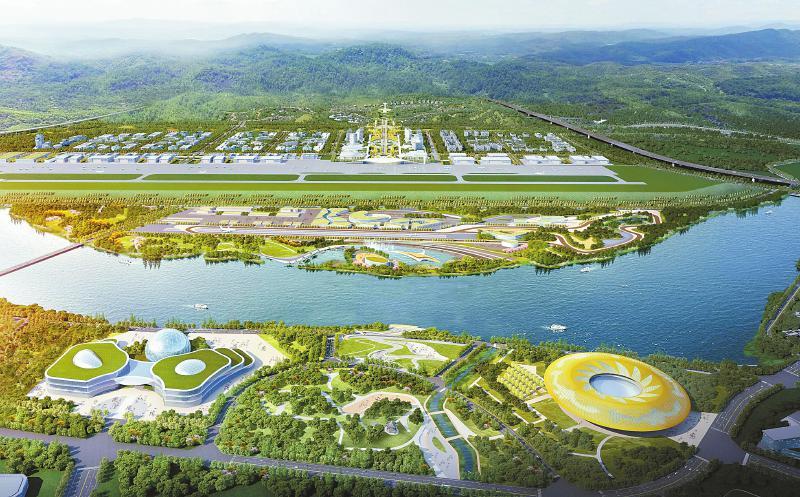 成都(金堂)通用机场预计今年年底投入运营 成都将再添一个新机场